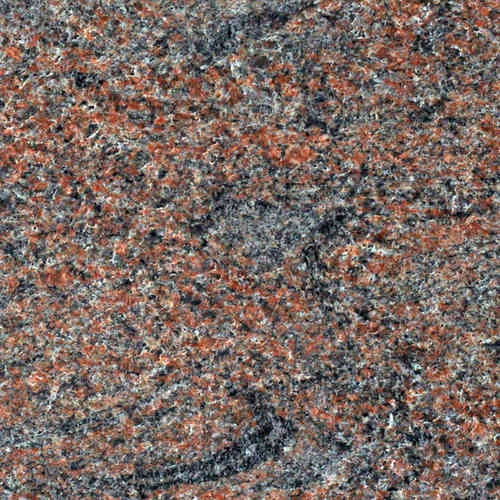 Antik Granit Multicolor Rot antik gebürstet