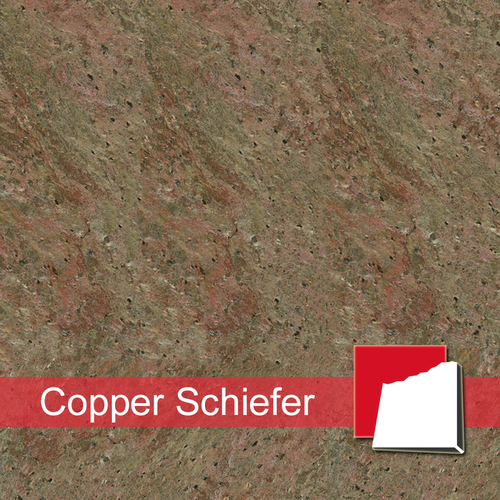 Copper Schiefer als Schiefer-Fliesen