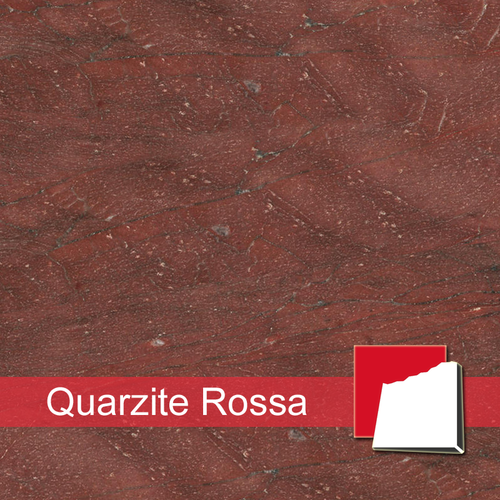 Quarzite Rossa Quarzit-Fliesen