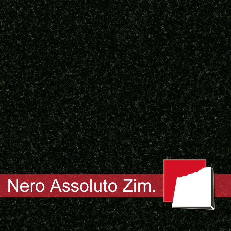 Nero Assoluto Zimbabwe Granit Fensterbanke Granit