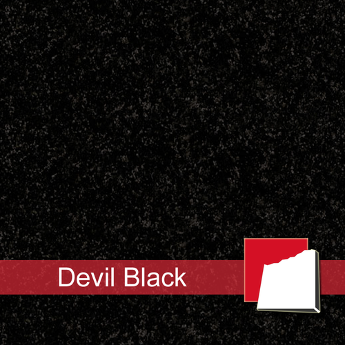 Devil Black Granitplatten