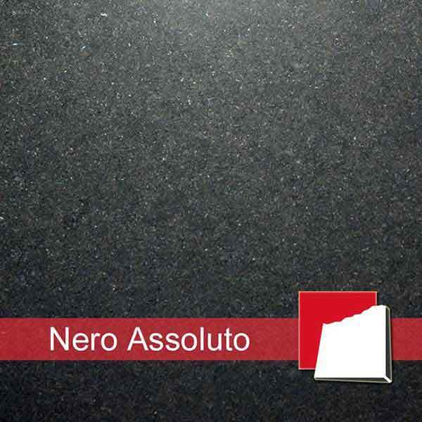 Granit Nero Assoluto | Fliesen & Platten aus Nero Assoluto Granit
