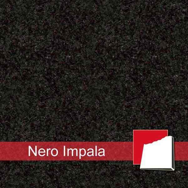 Granit Nero Impala Fliesen Platten Aus Nero Impala Granit - Schwarzer granit fliesen preis