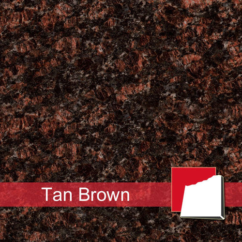 Granitfliesen Tan Brown