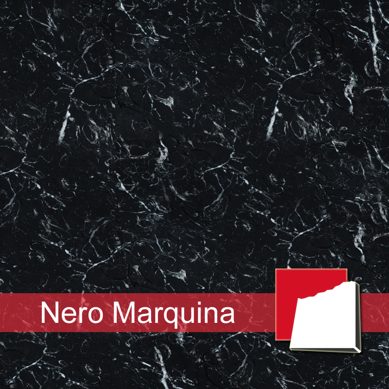 Antikmarmor-Fliesen, Nero Marquina