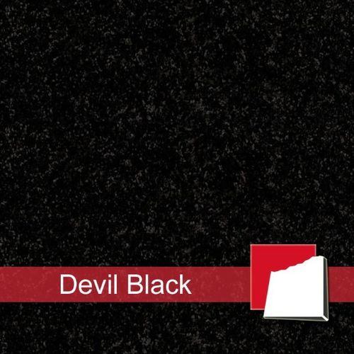 Granitfliesen Devil Black