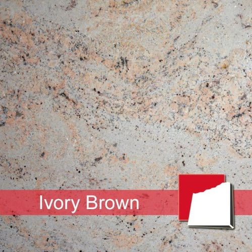 Granitfliesen Ivory Brown