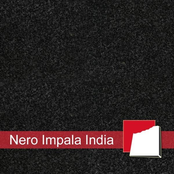 granitfliesen nero impala india. Black Bedroom Furniture Sets. Home Design Ideas
