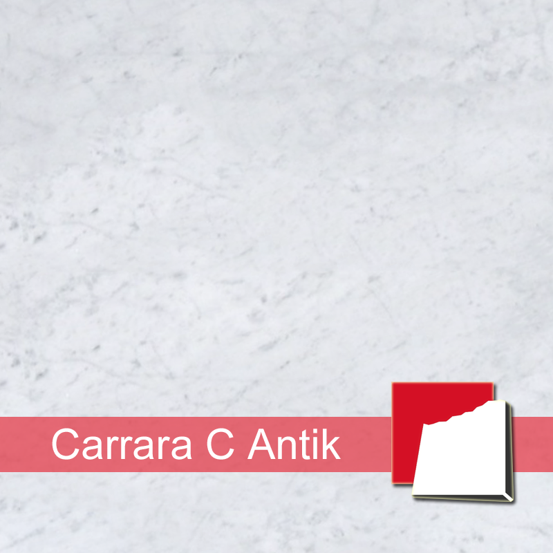 Antikmarmor-Fliesen, Bianco Carrara C