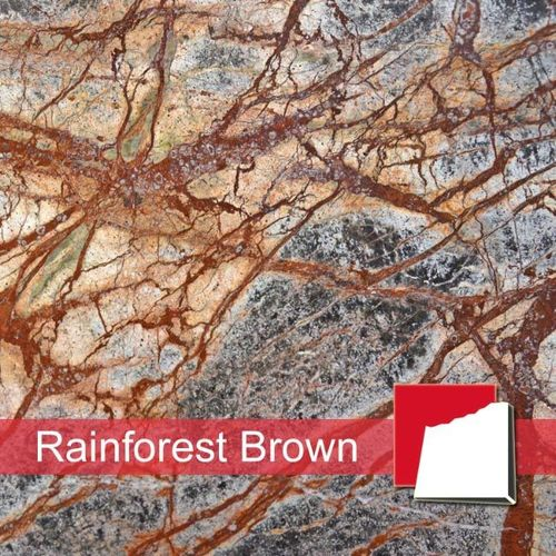 Rainforest Brown Marmorfliesen