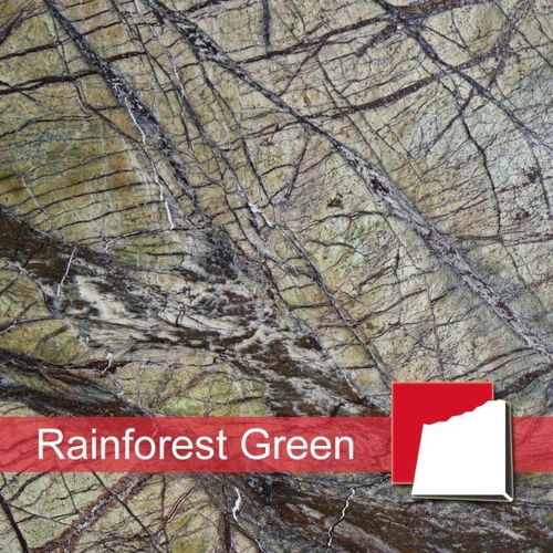Rainforest Green Marmorfliesen