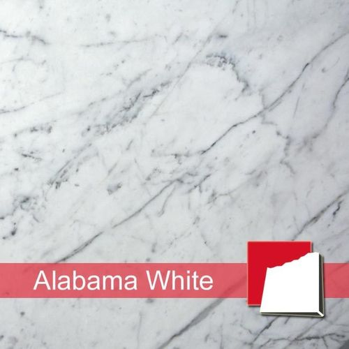 Alabama White Marmorfliesen