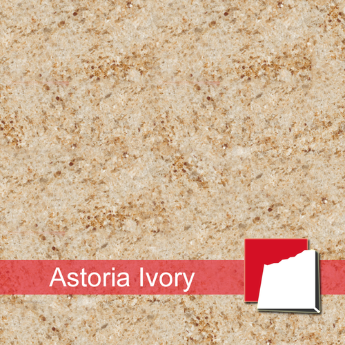 Astoria Ivory Fliesen satiniert
