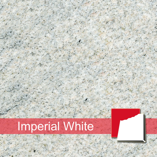 Imperial White Fliesen satiniert