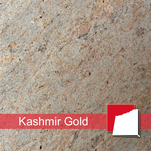 Kashmir Gold Fliesen satiniert