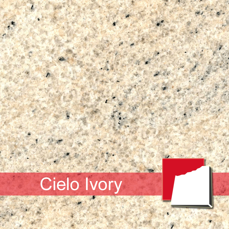 cielo ivory granitplatten platten aus cielo ivory granit. Black Bedroom Furniture Sets. Home Design Ideas