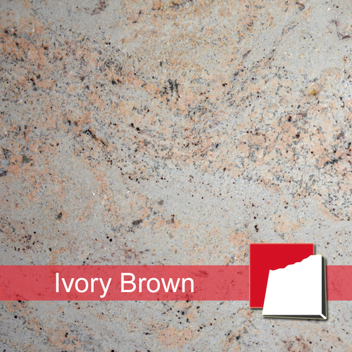 Ivory Brown Granitplatten