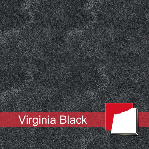 Virginia Black Granitplatten