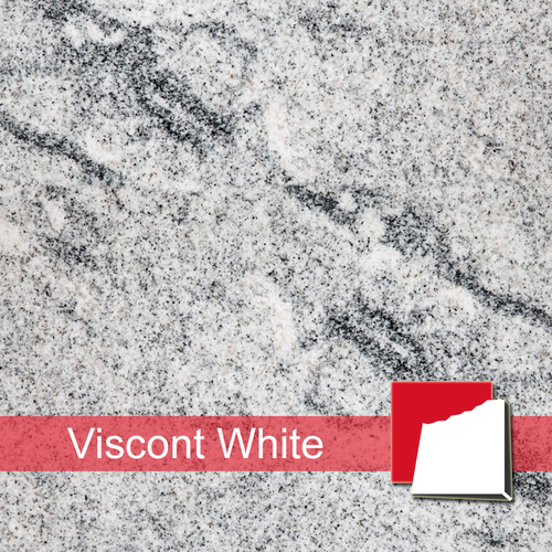 Viscont White Granitplatten