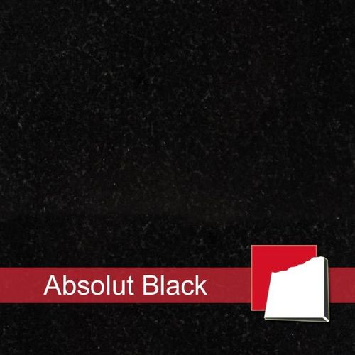 Granitfliesen Absolut Black