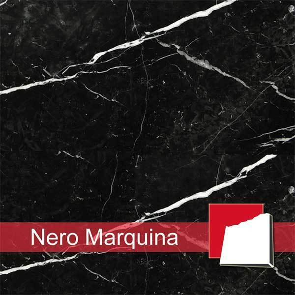 Marmor nero marquina fliesen platten aus nero marquina marmor - Marmorfliesen schwarz ...